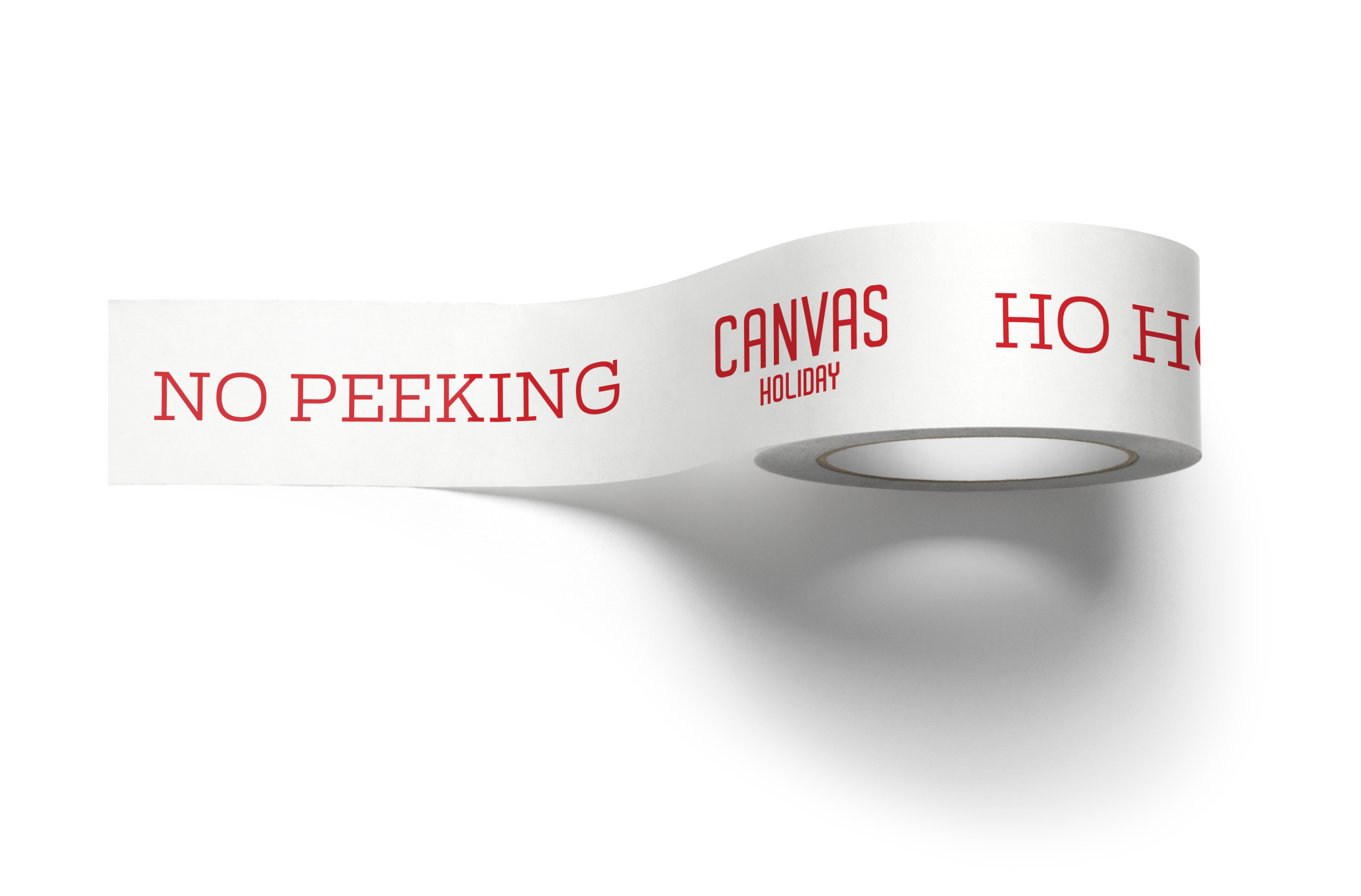 Canvas Holiday Tape