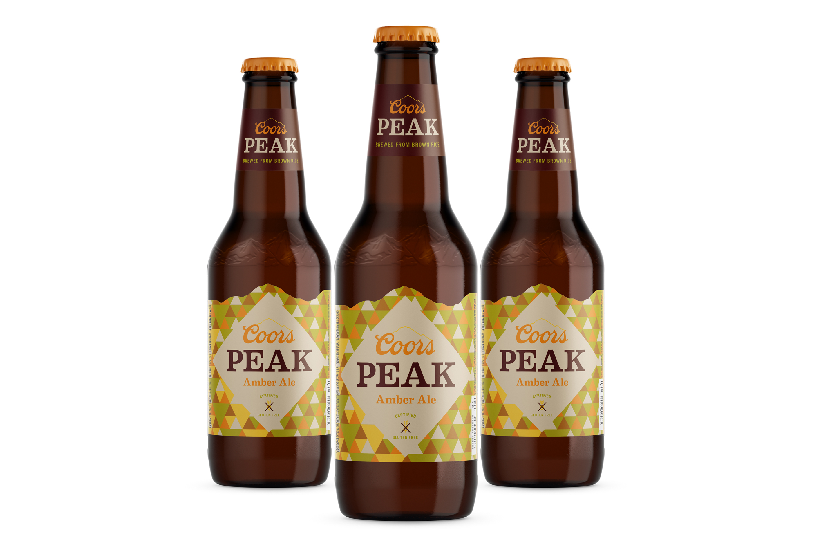 Coors Peak Bottle Lables