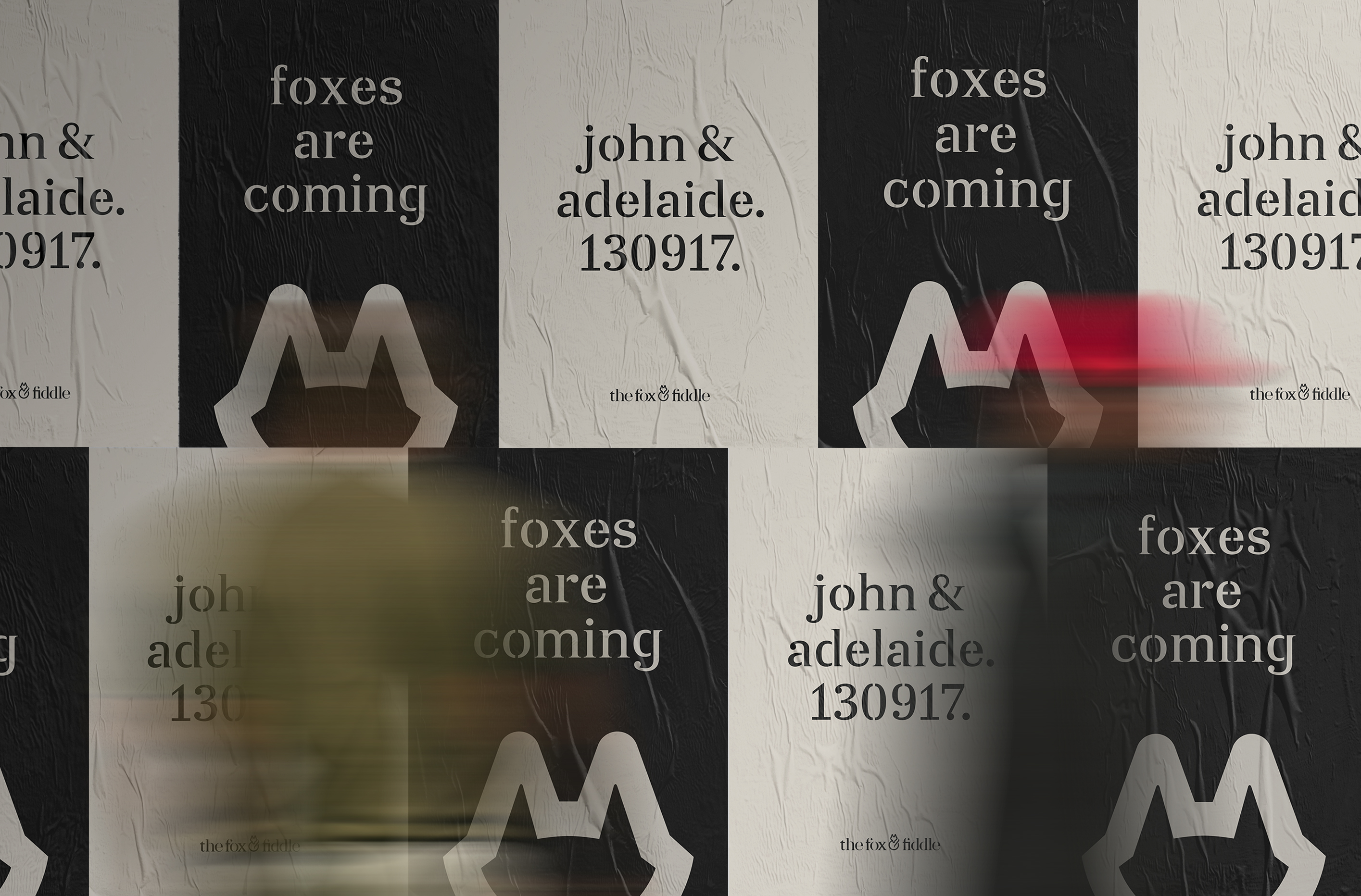 Fox & Fiddle Posters