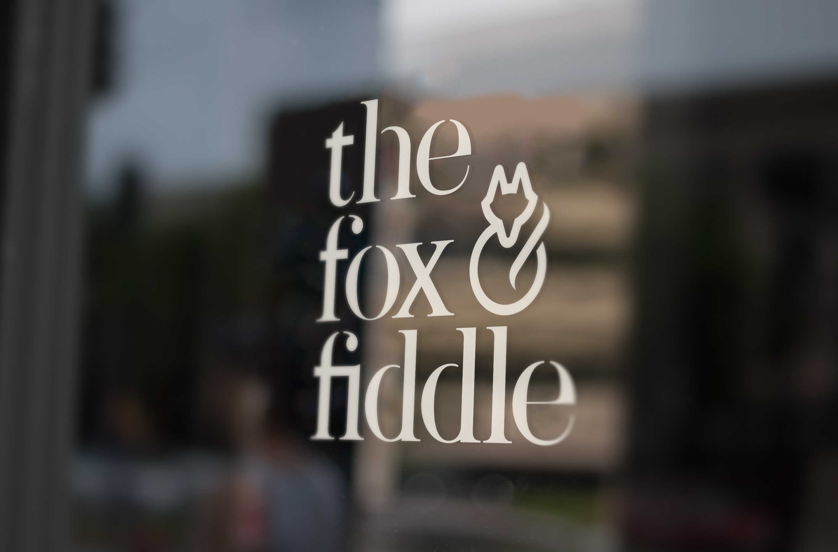 Fox&Fiddle window