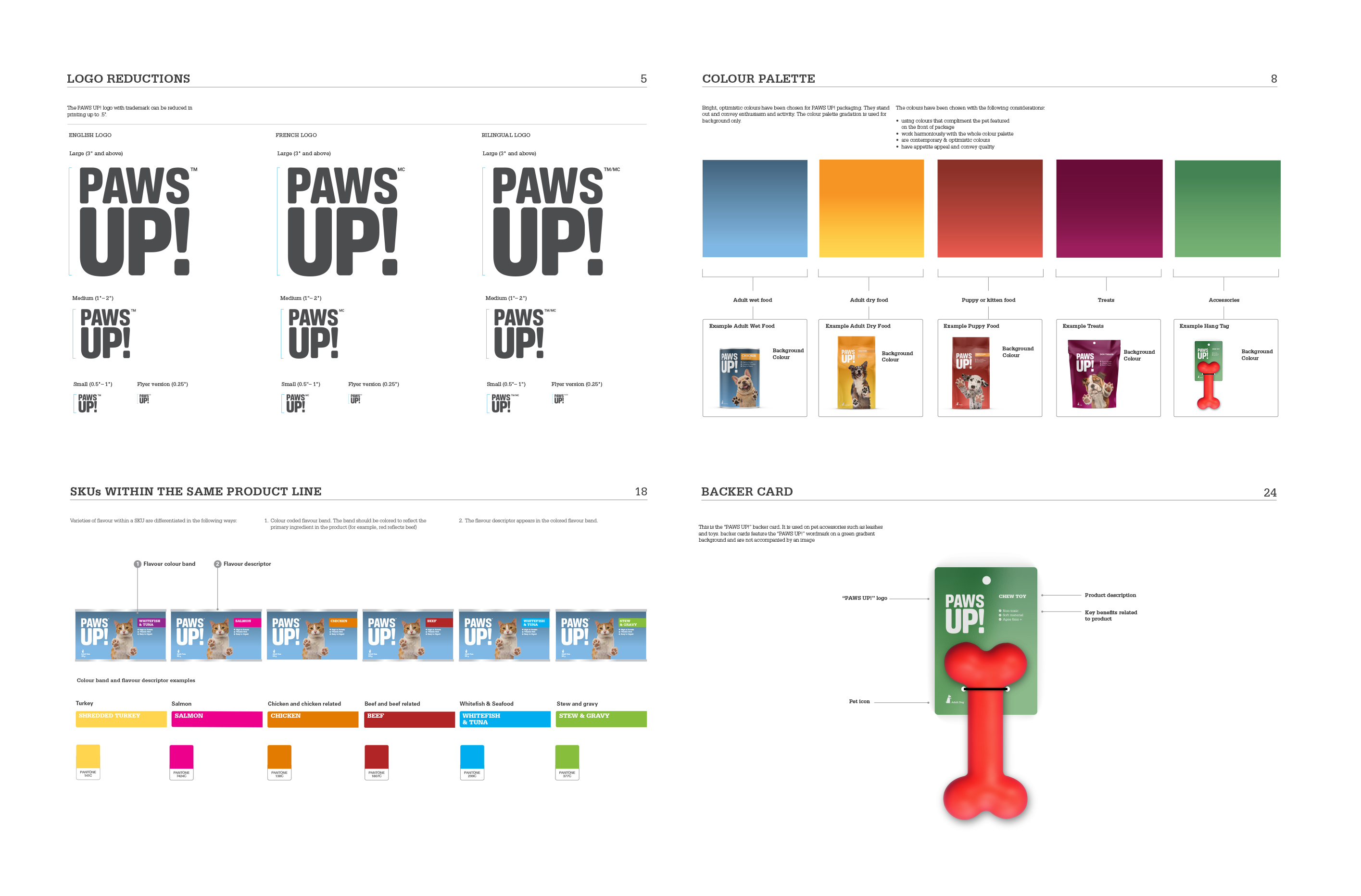 Paws Up Brand Guidelines