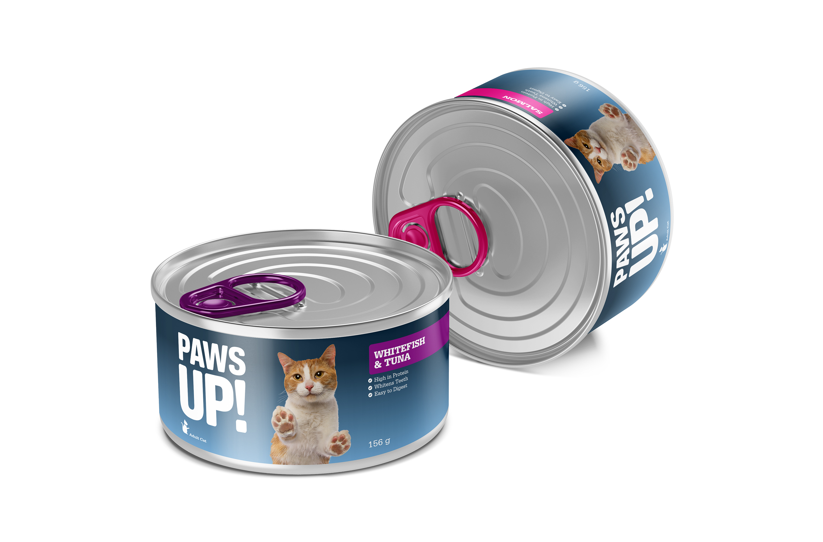Paws Up Cat Cans