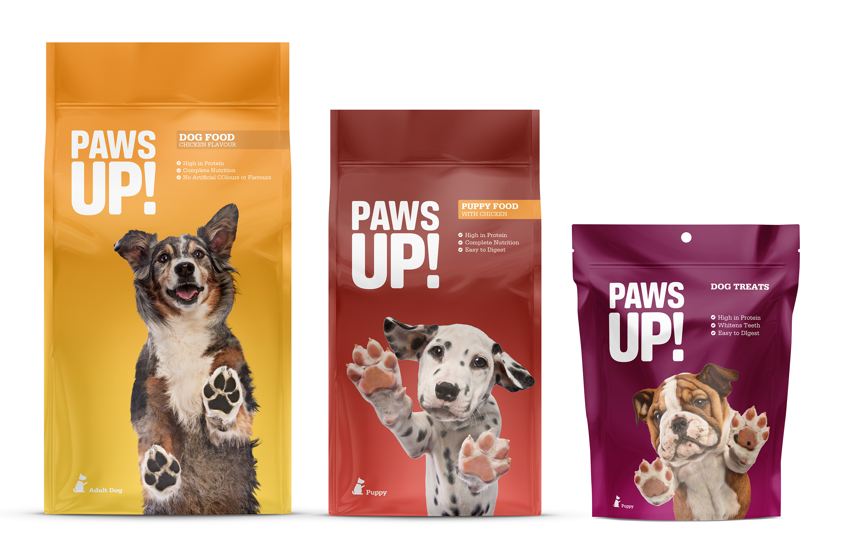 Paws Up dry food
