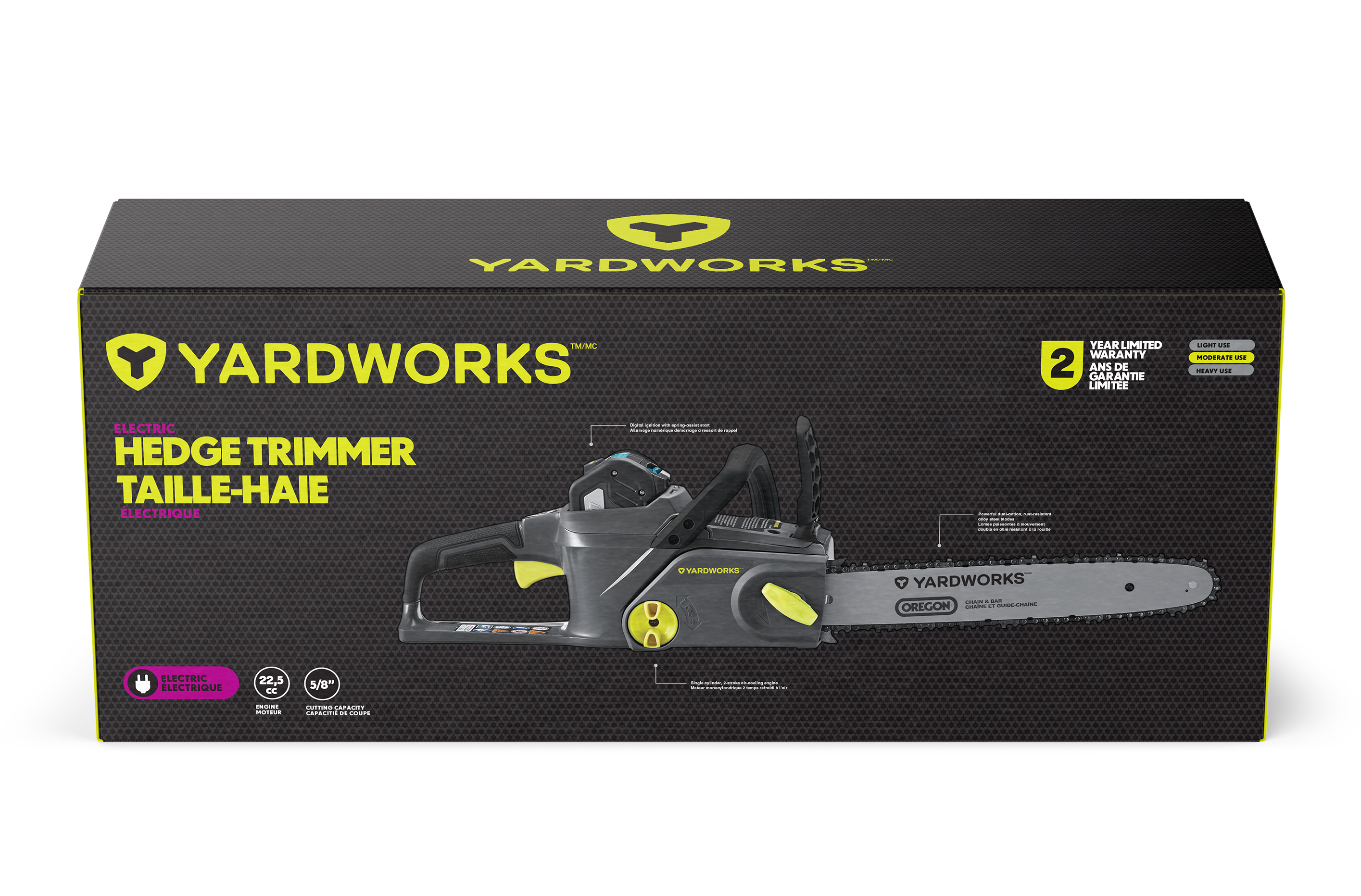 Yardworks Electric Chain Saw