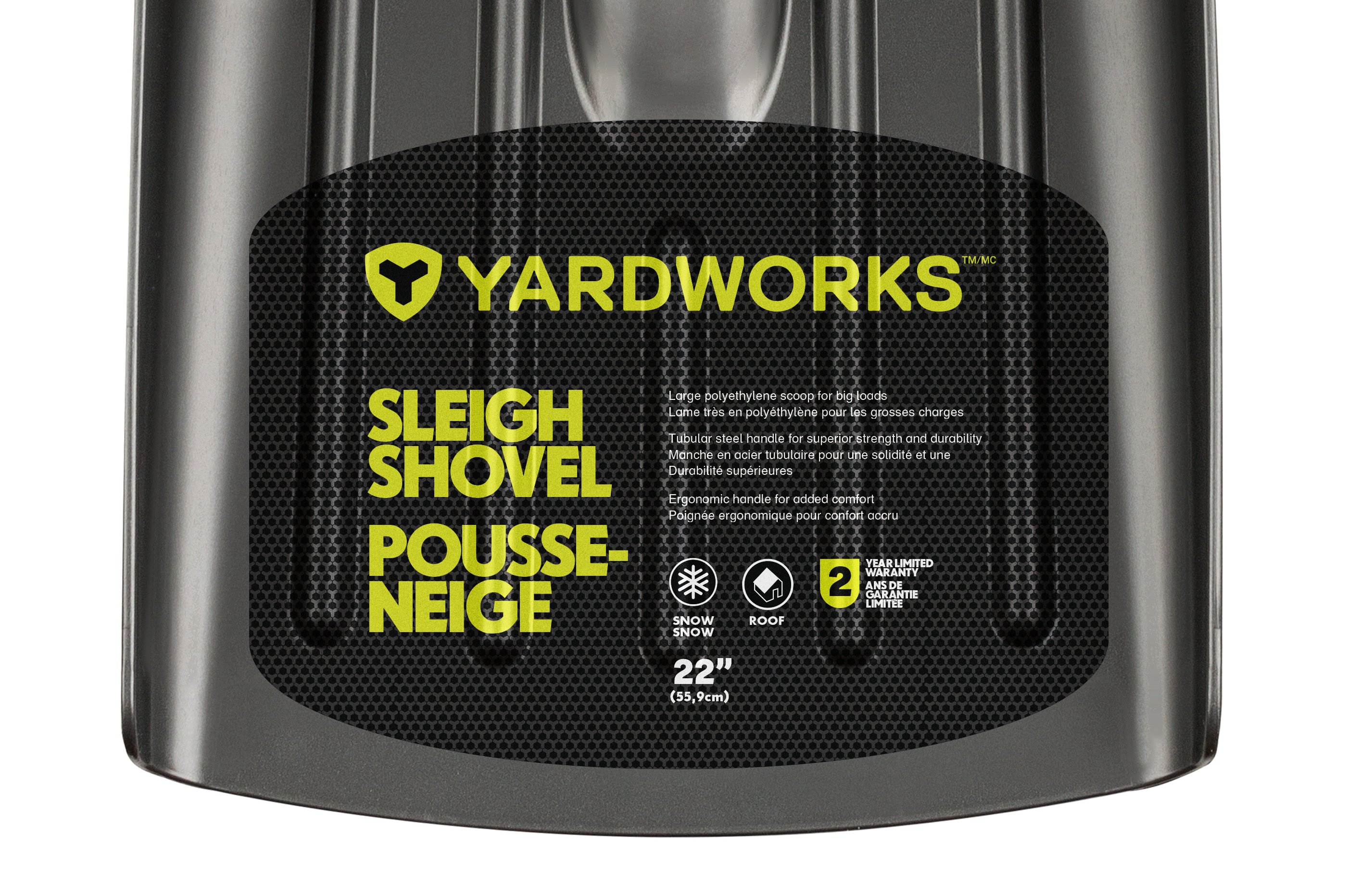 Yardworks Snow Shovel
