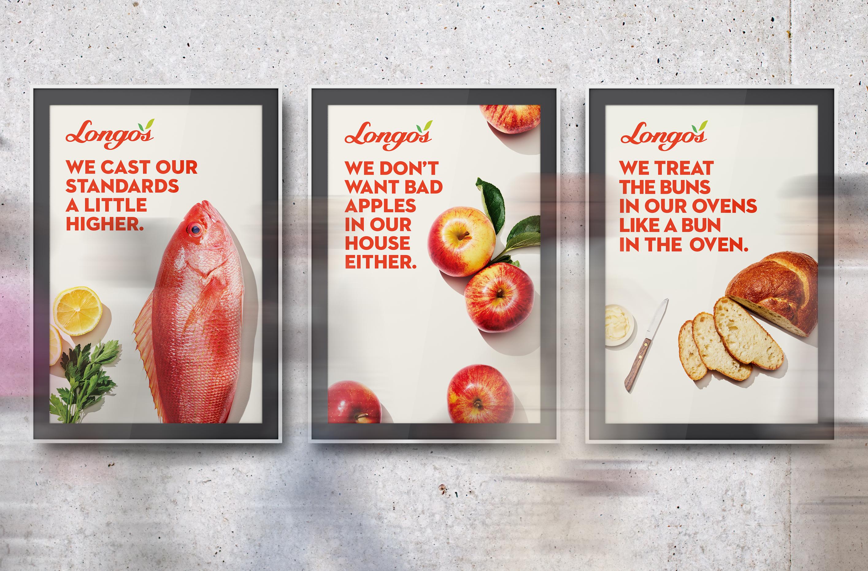 Longos Backlit TSA Posters
