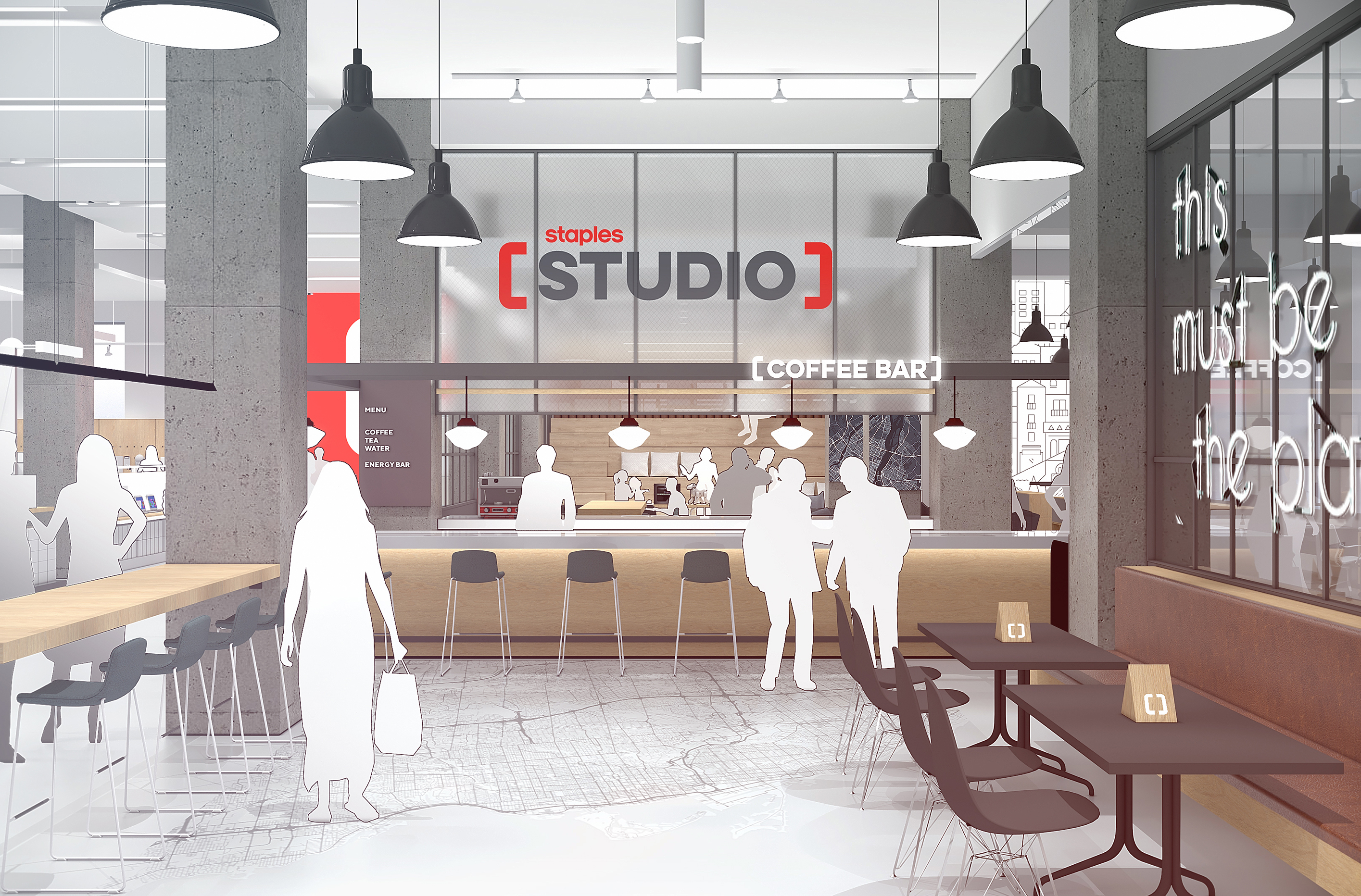 Staples Studio Cafe