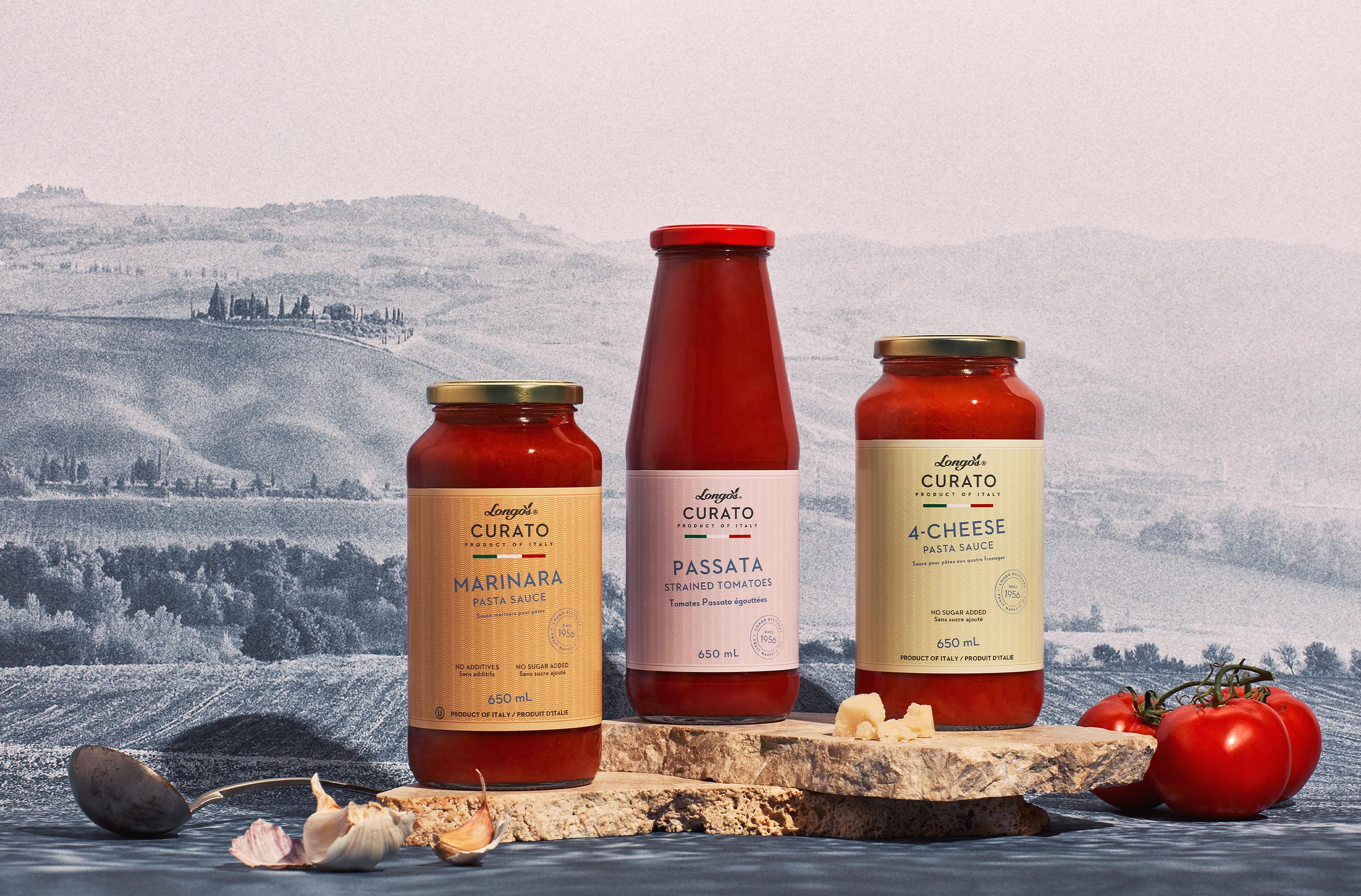 Longo's Curato Tomato Sauces