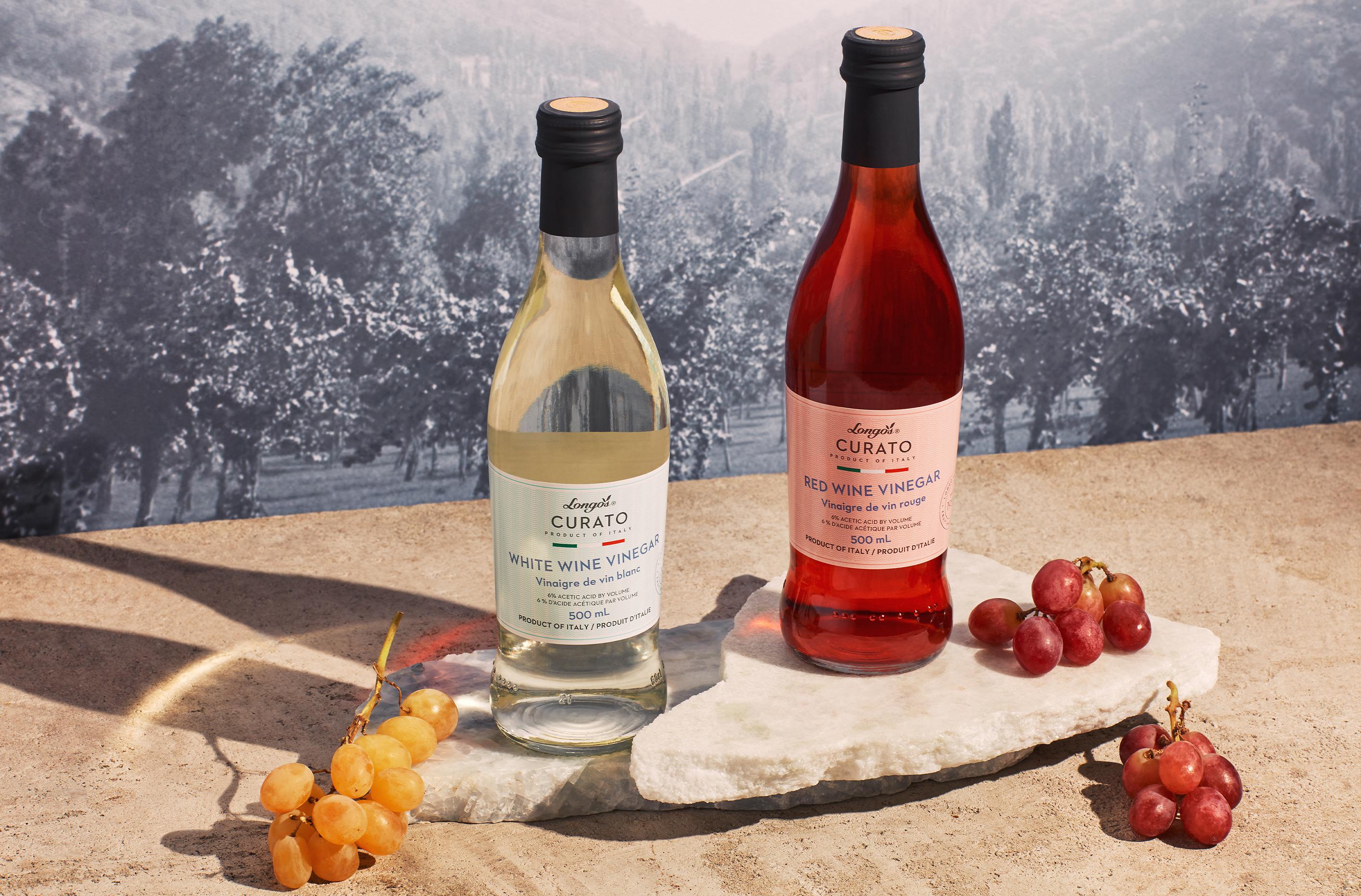 Longo's Curato Vinegars