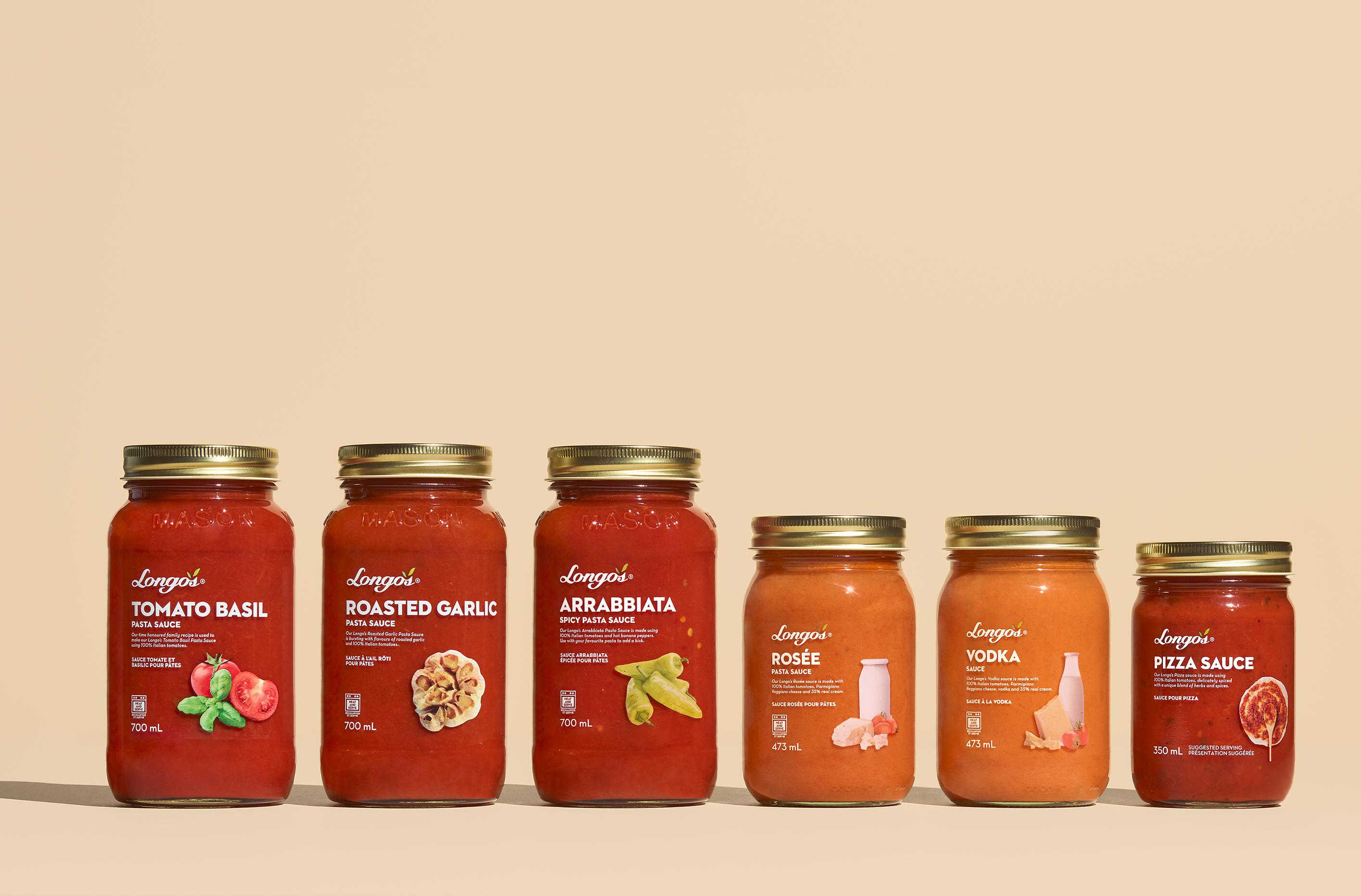 Longos-Private Label Sauces